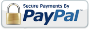 All payments are secured by PayPal