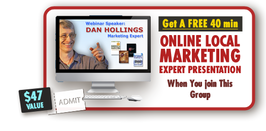 Dan Hollings expert marketing presentation bonus offer