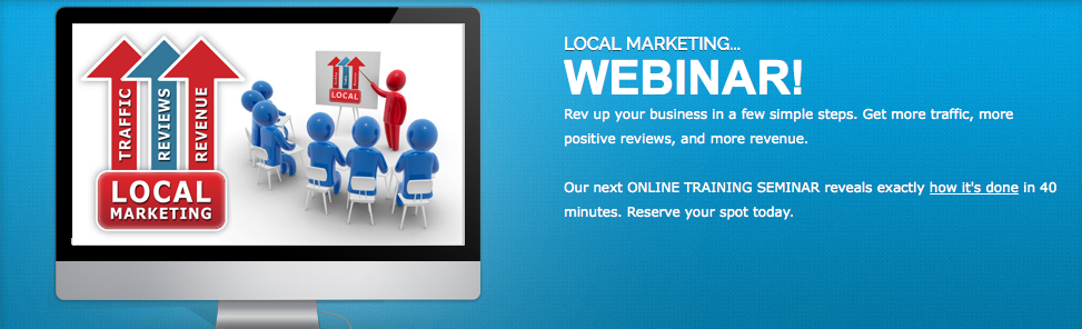 Local Marketing webinar with expert presenter Dan Hollings